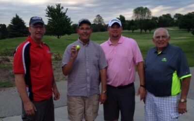 HOLE IN ONE – Times Two too?!
