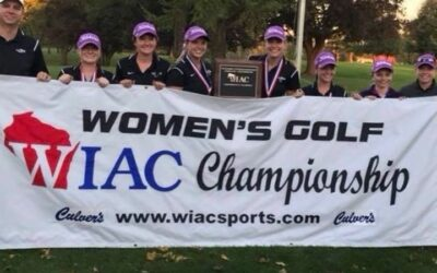 UW Women's Golf are 2018 WIAC Conference Champions